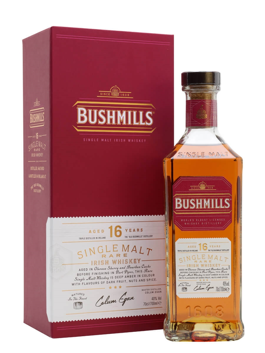 Review: Bushmills Single Malt 16 Years Old Irish Whiskey ...