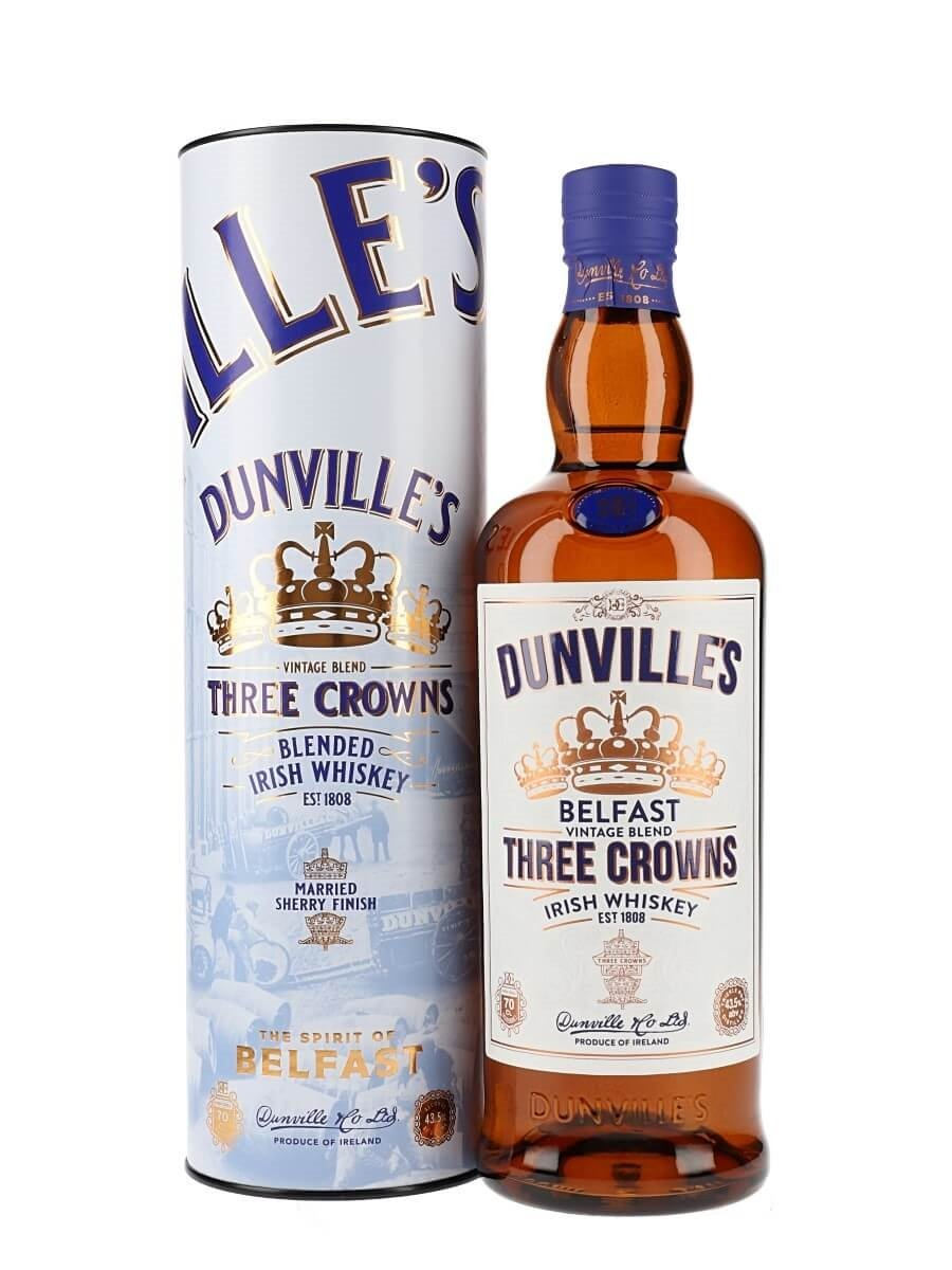 Dunville's Three Crowns Whiskey