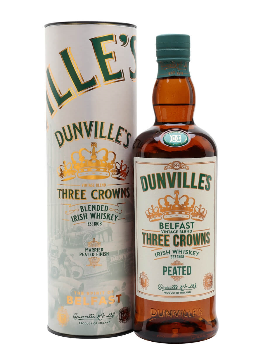 Dunville's Three Crowns Peated Whiskey