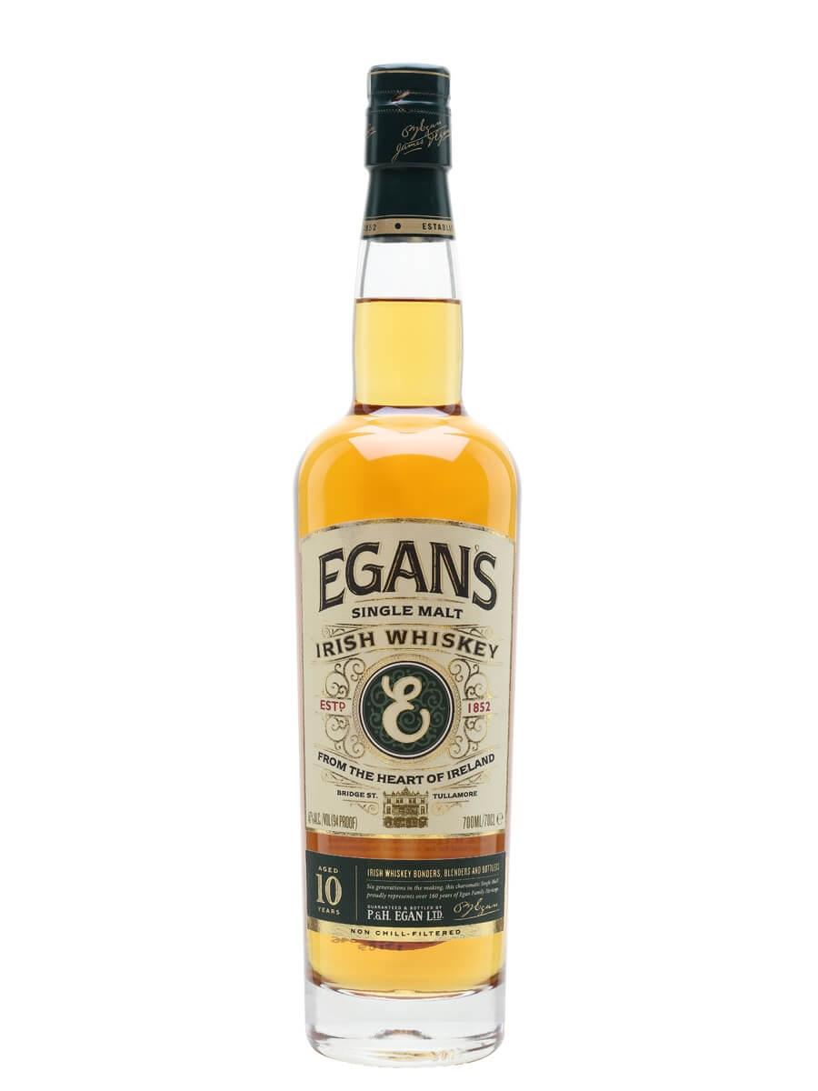Egan's Single Malt Whiskey 10 Year Old