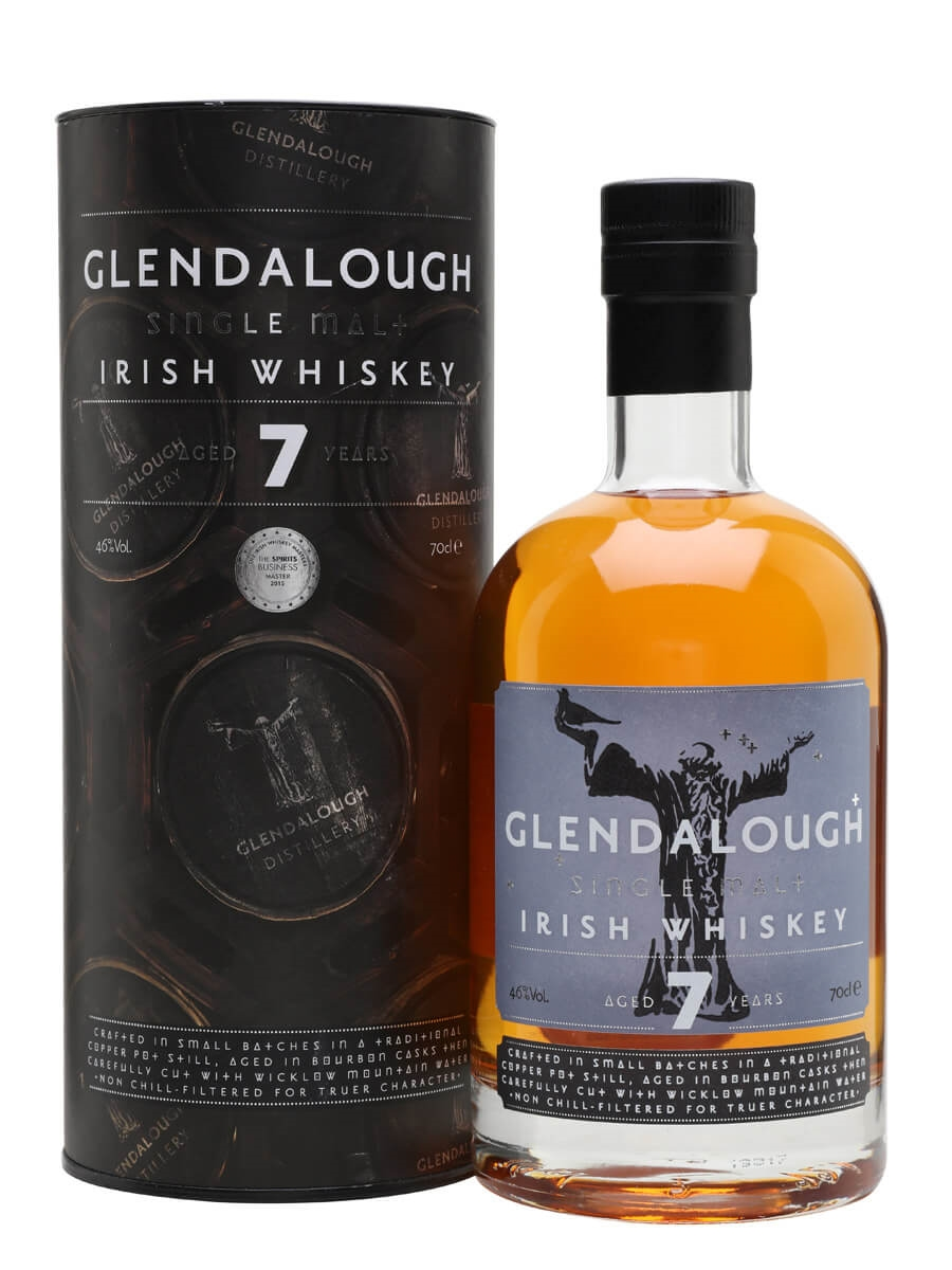 c4ed27dfcc6 Glendalough 7 Year Old - Bourbon Cask   The Whisky Exchange