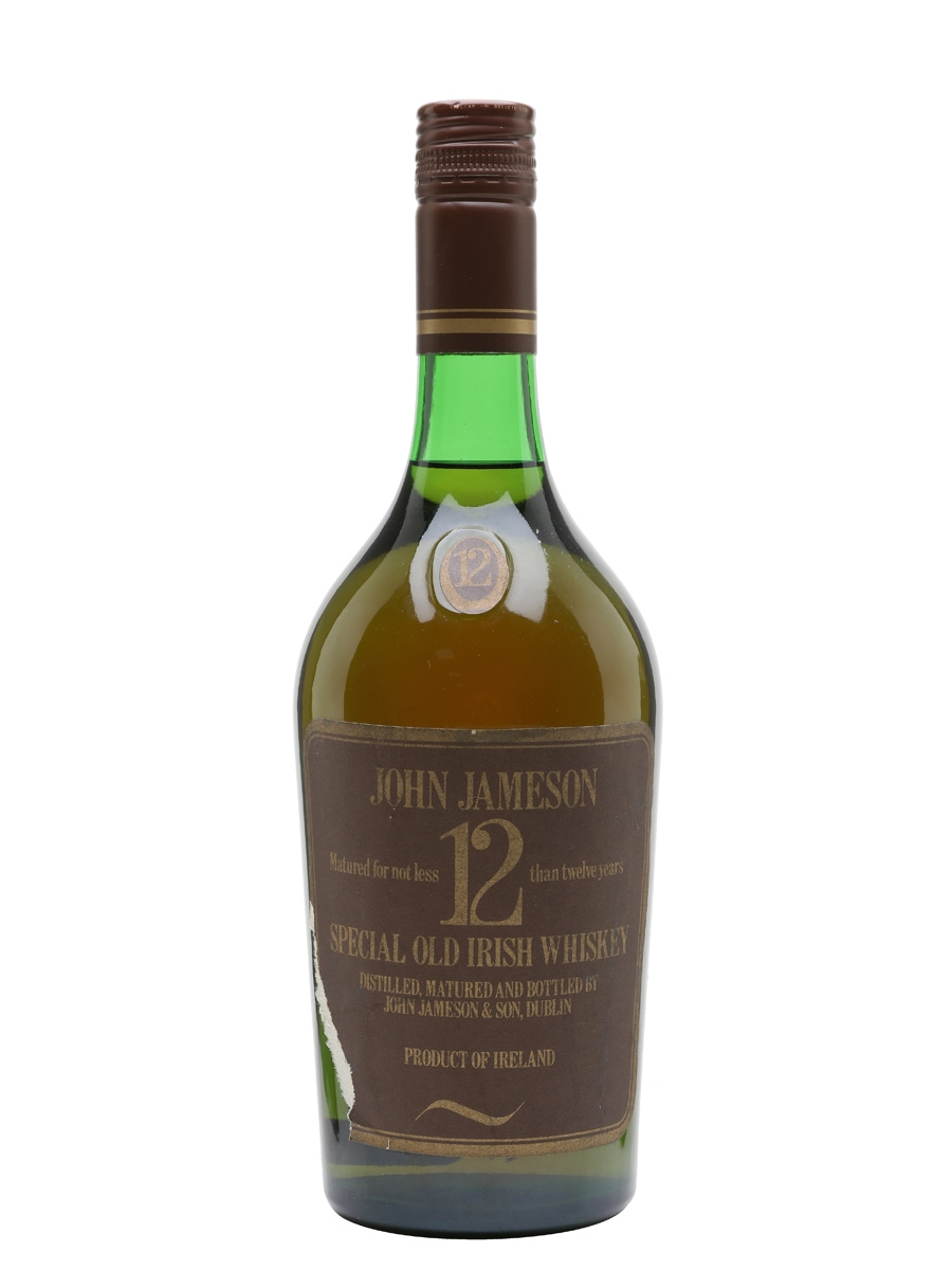 Jameson 12 Year Old / Bot.1970s