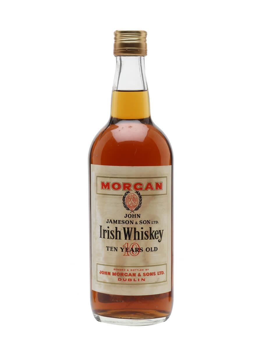 Jameson Irish Whiskey 10 Year Old / Bot.1960s / J. Morgan & Sons