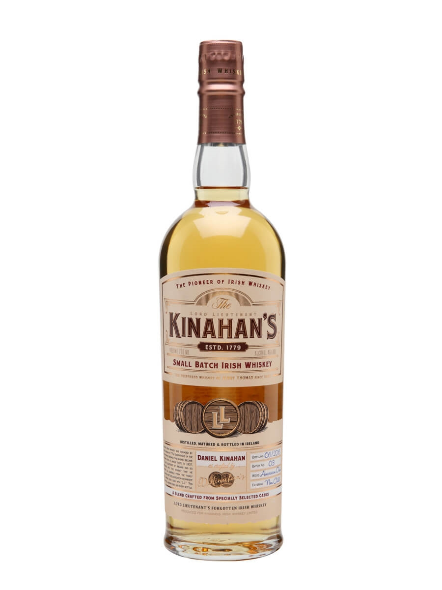 Kinahan's Small Batch Irish Whiskey