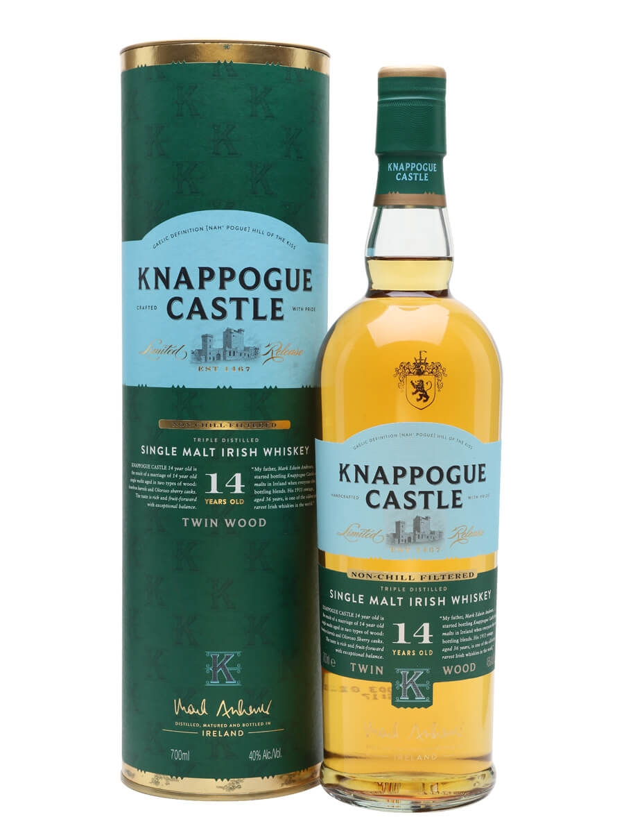 Knappogue Castle 14 Year Old / Gift Tube