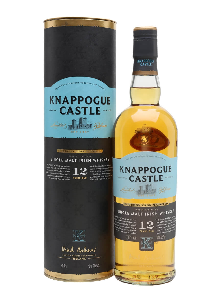 Knappogue Castle 12 Year Old (40%)