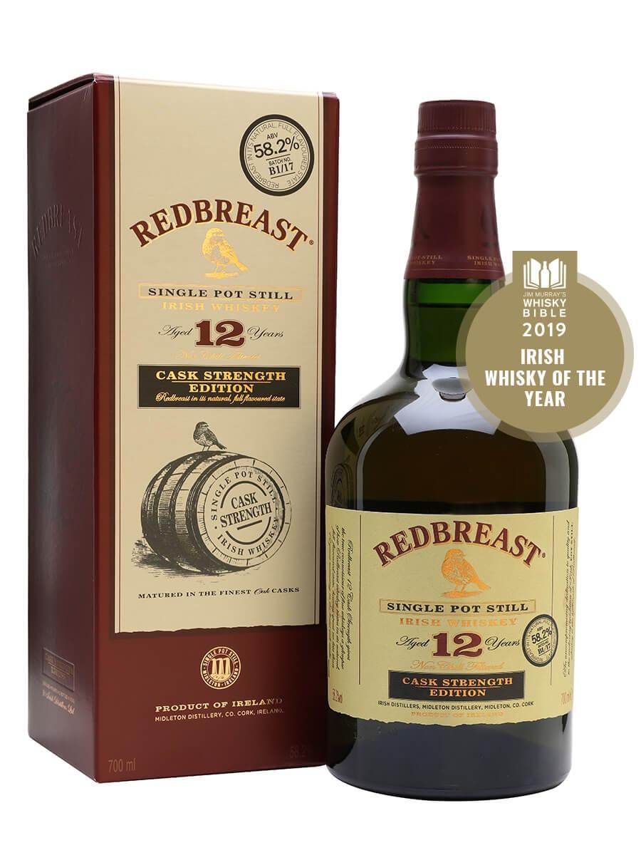 Redbreast 12 Year Old Cask Strength / Batch B1-17