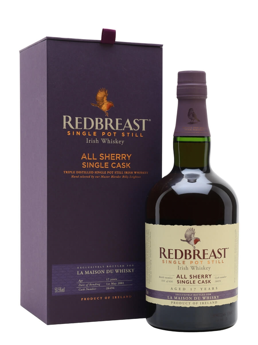 Redbreast 2001 / 17 Year Old / All Sherry Single Cask French Connections