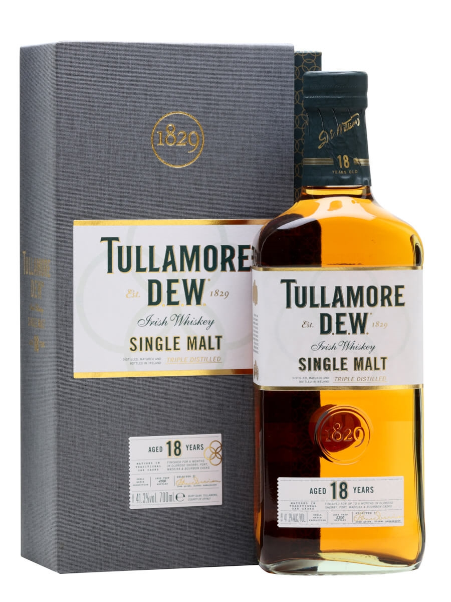 Tullamore Dew 18 Year Old : The Whisky Exchange