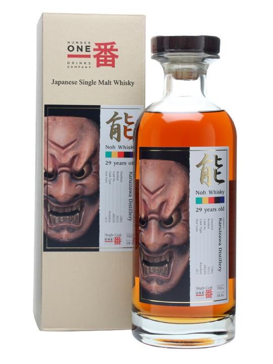 Karuizawa 1982 / Noh Cask #8529 / Bourbon Cask