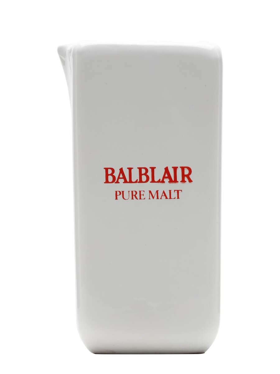Balblair / White / Square Shaped / Large Water Jug