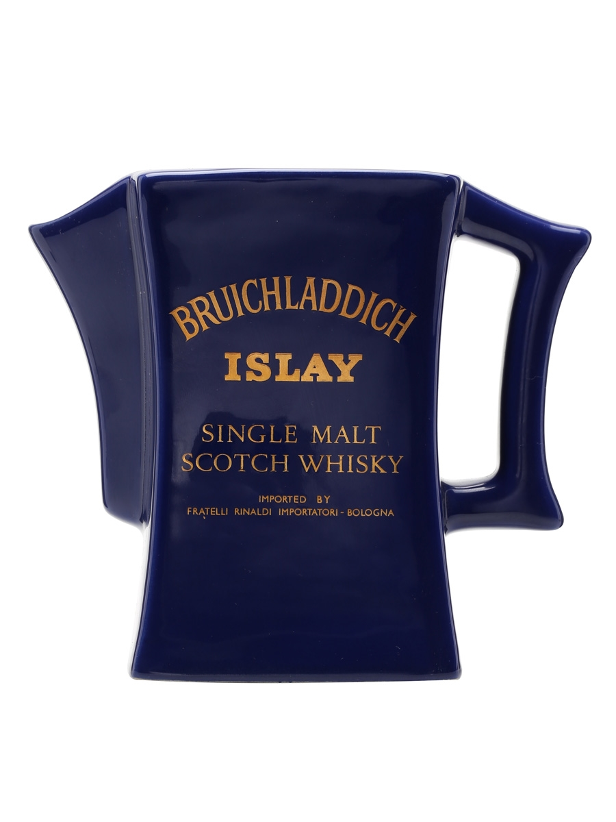 Bruichladdich / Blue With Gold Text / Square Large Water Jug