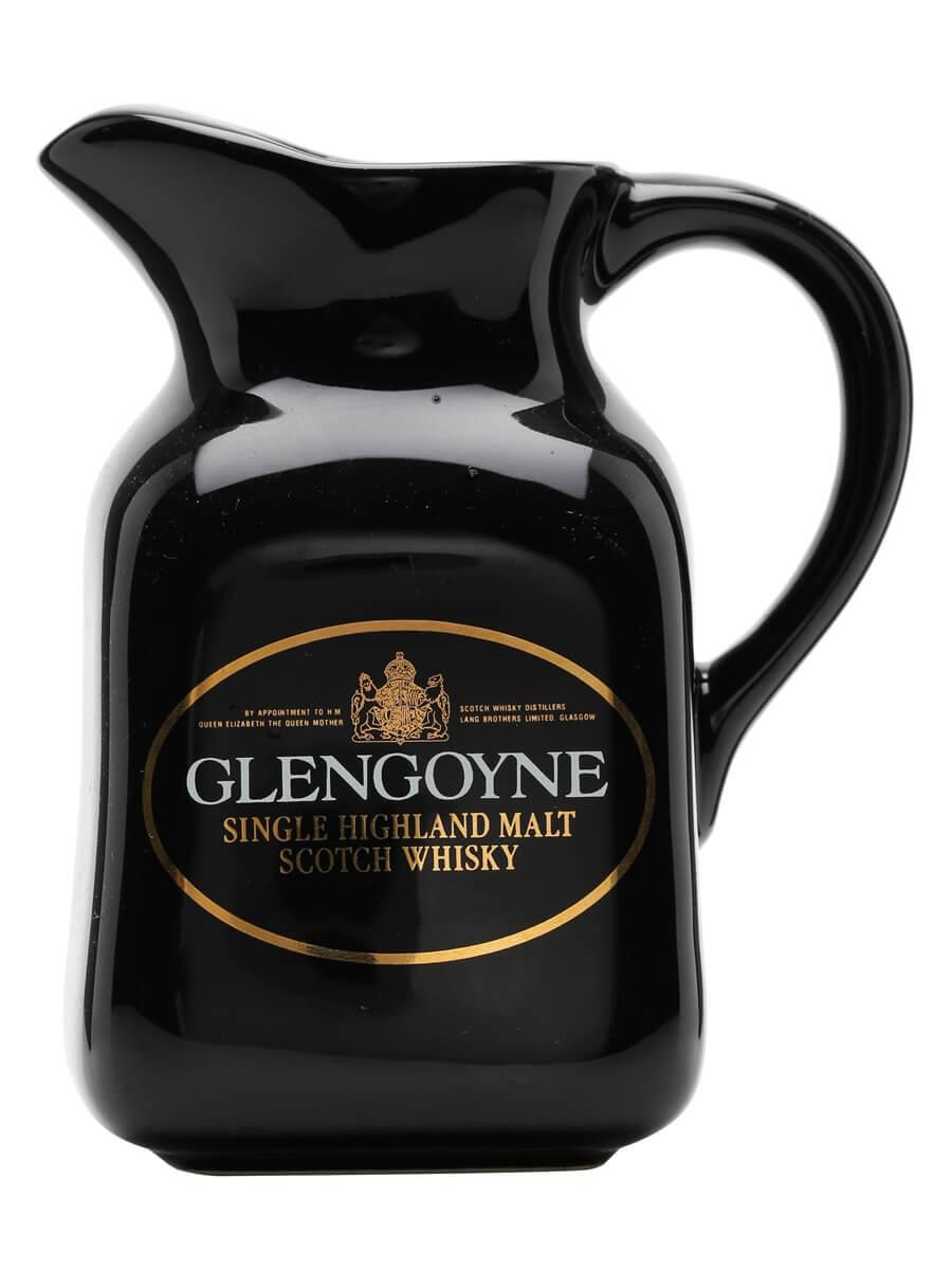 Glengoyne / Black / Square Shape / Medium Water Jug