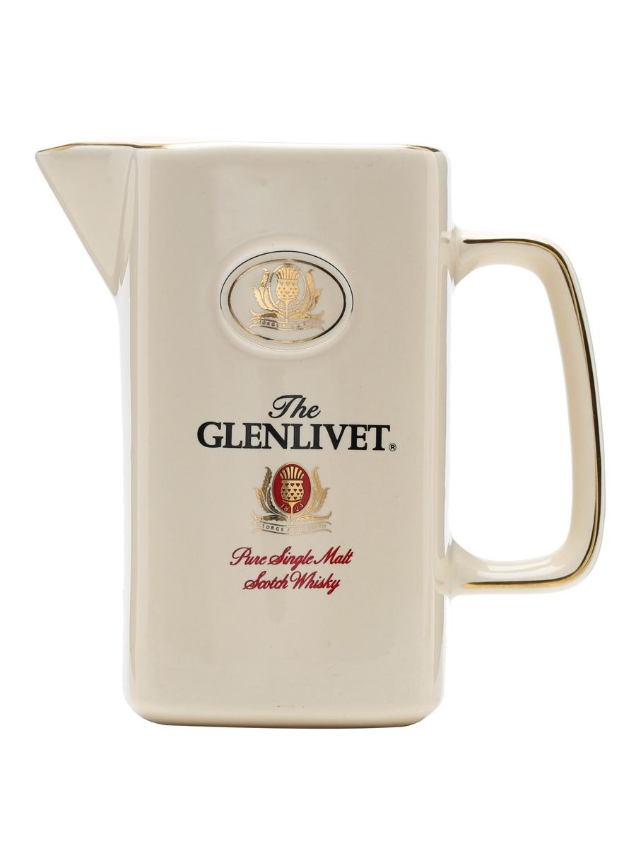 Glenlivet / Cream / Square / Large Water Jug