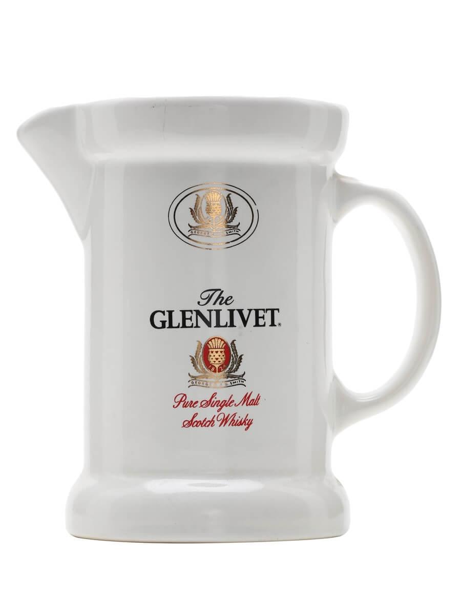 Glenlivet / White / Large Jug