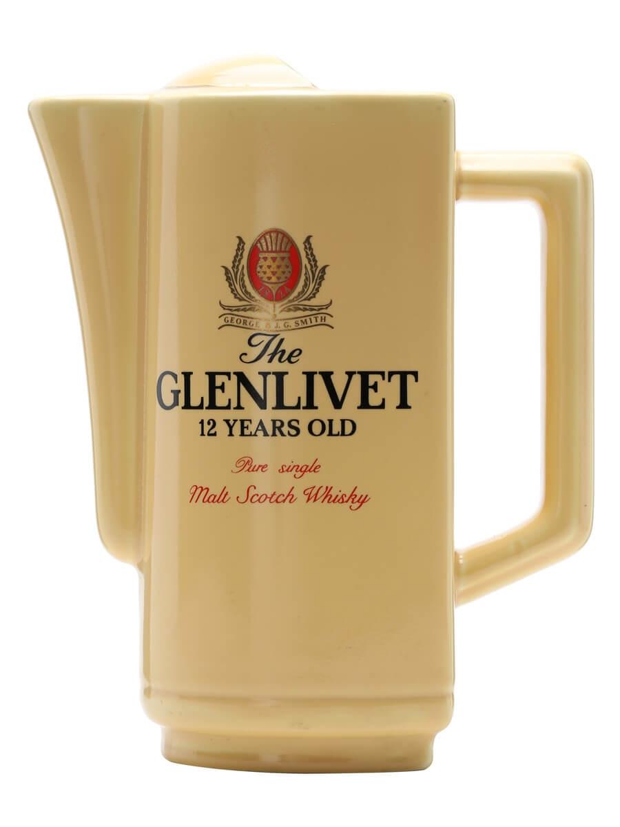 Glenlivet 12 Years Old / Cream / Large Water Jug