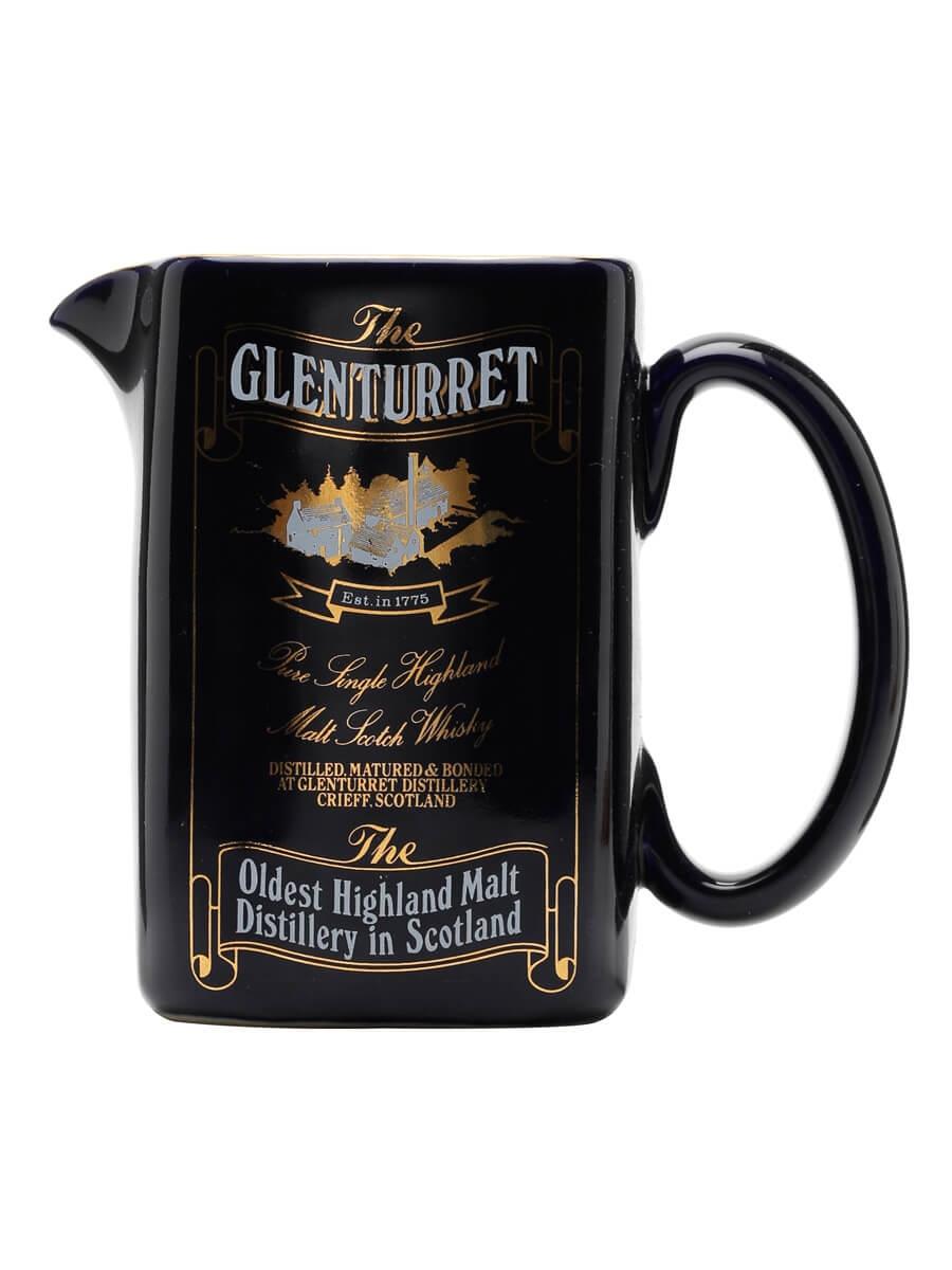 Glenturret / Blue / Square Shape / Water Jug