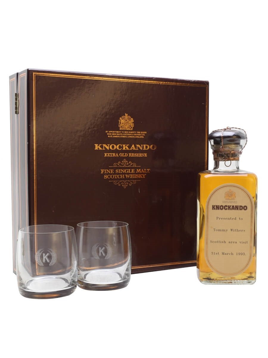 Knockando Extra Old Reserve / Glass Pack