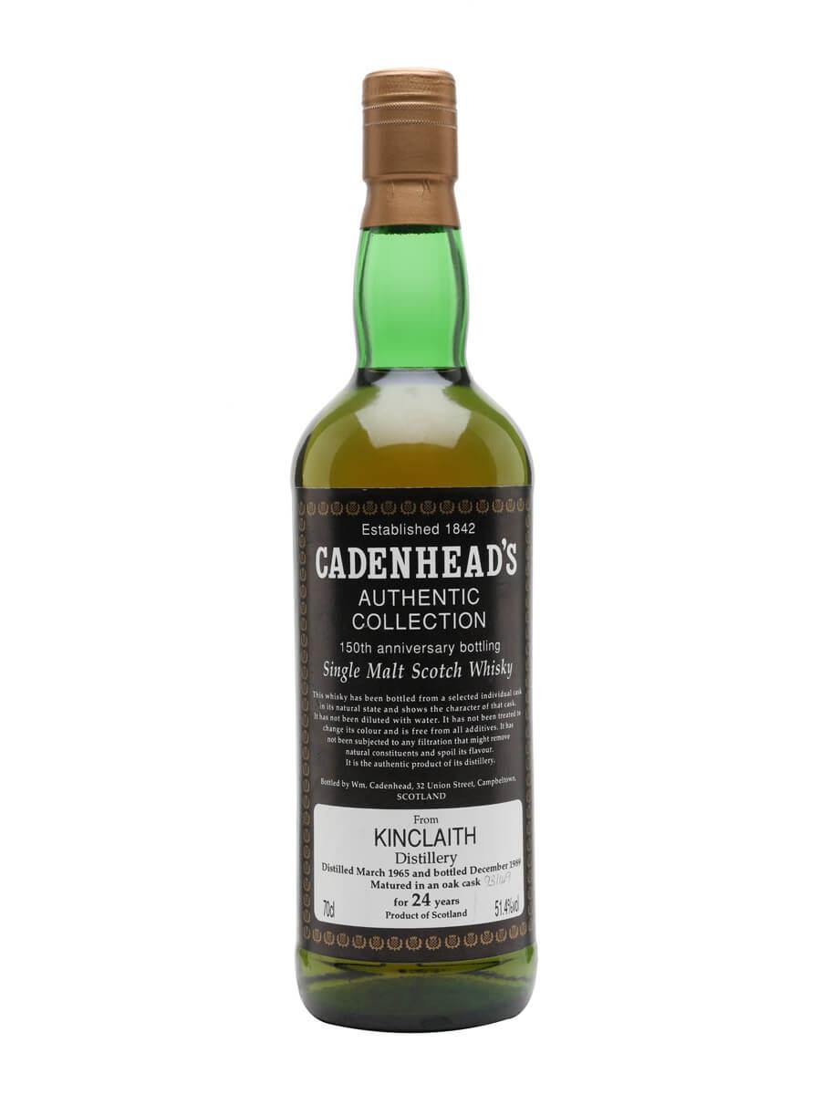 Kinclaith 1965 / 24 Year Old / Cadenhead's