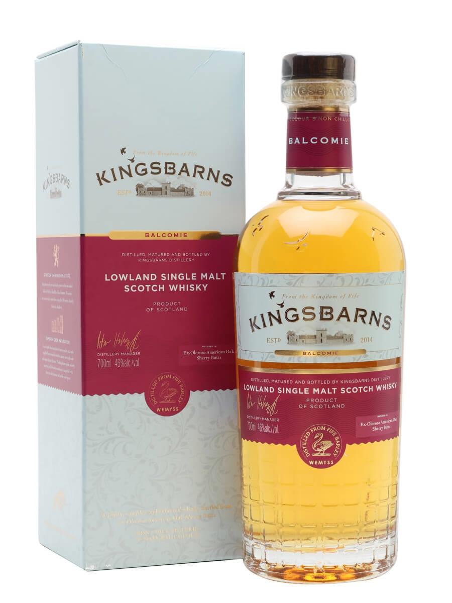Kingsbarns Balcomie Single Malt / Sherry Cask