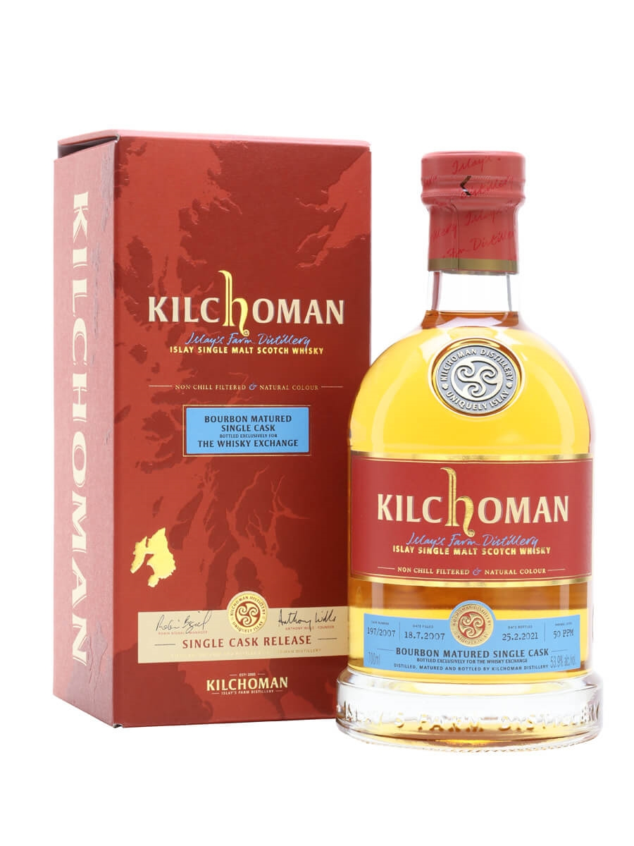 Kilchoman 2007 / 13 Year Old / Exclusive to The Whisky Exchange