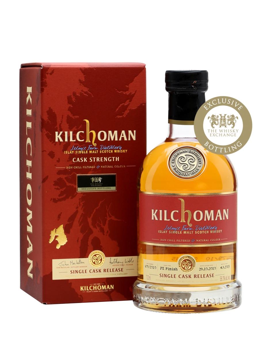 Kilchoman 2010 Single Cask / PX Finish / TWE Exclusive