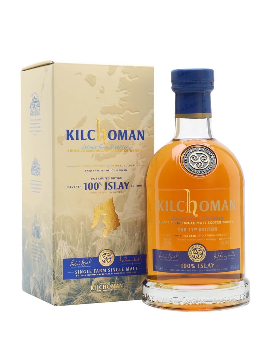 Kilchoman 100% Islay / Bot.2021 / 11th Edition