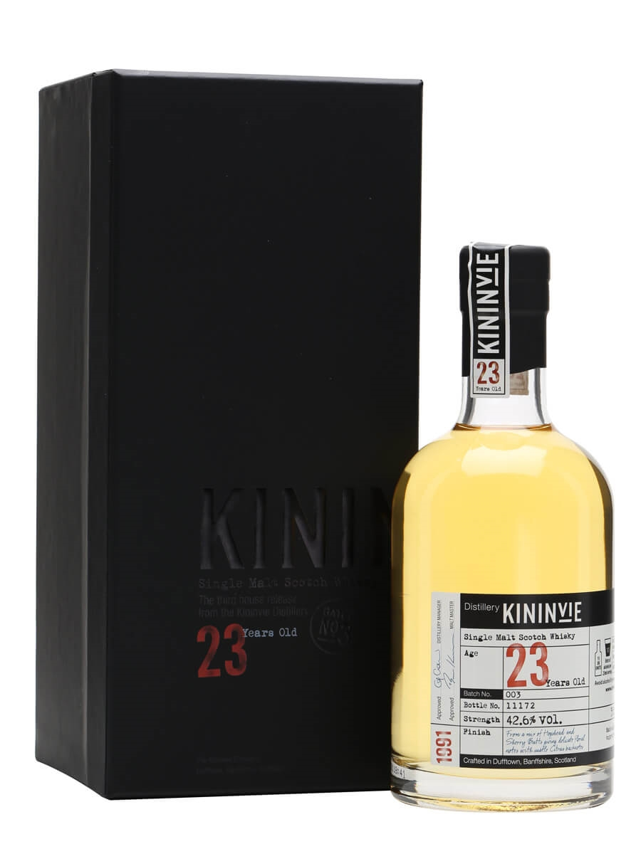 Kininvie 1991 / 23 Year Old / Batch 3 / Half Bottle