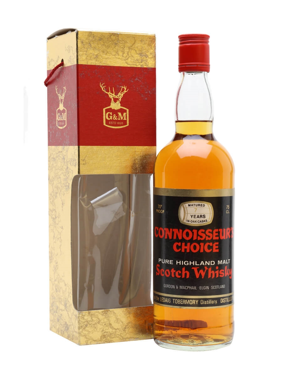 Ledaig-Tobermory 1972 / 7 Year Old / Connisseurs Choice