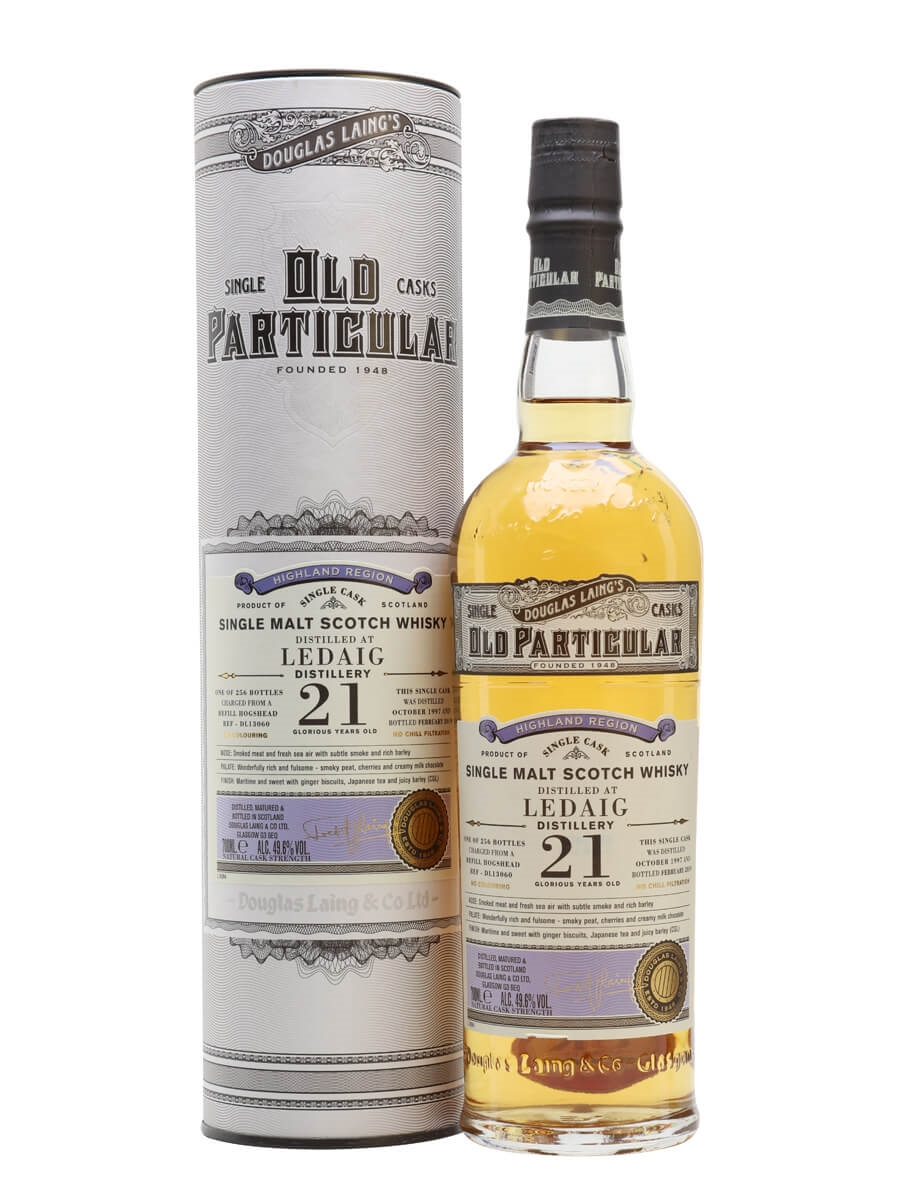 Ledaig 1997 / 21 Year Old / Old Particular