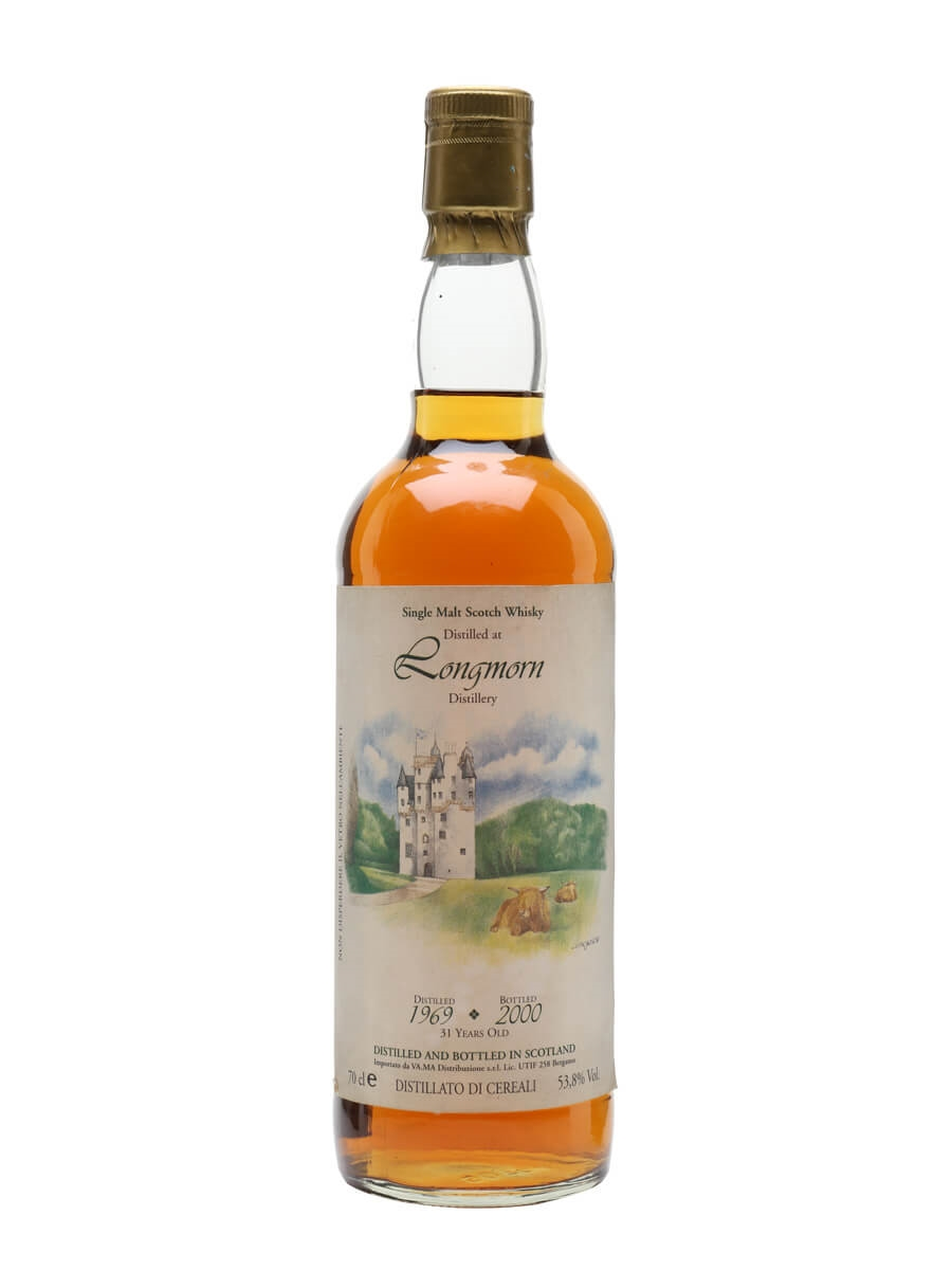 Longmorn 1969 / 31 Years Old / Castle Collection