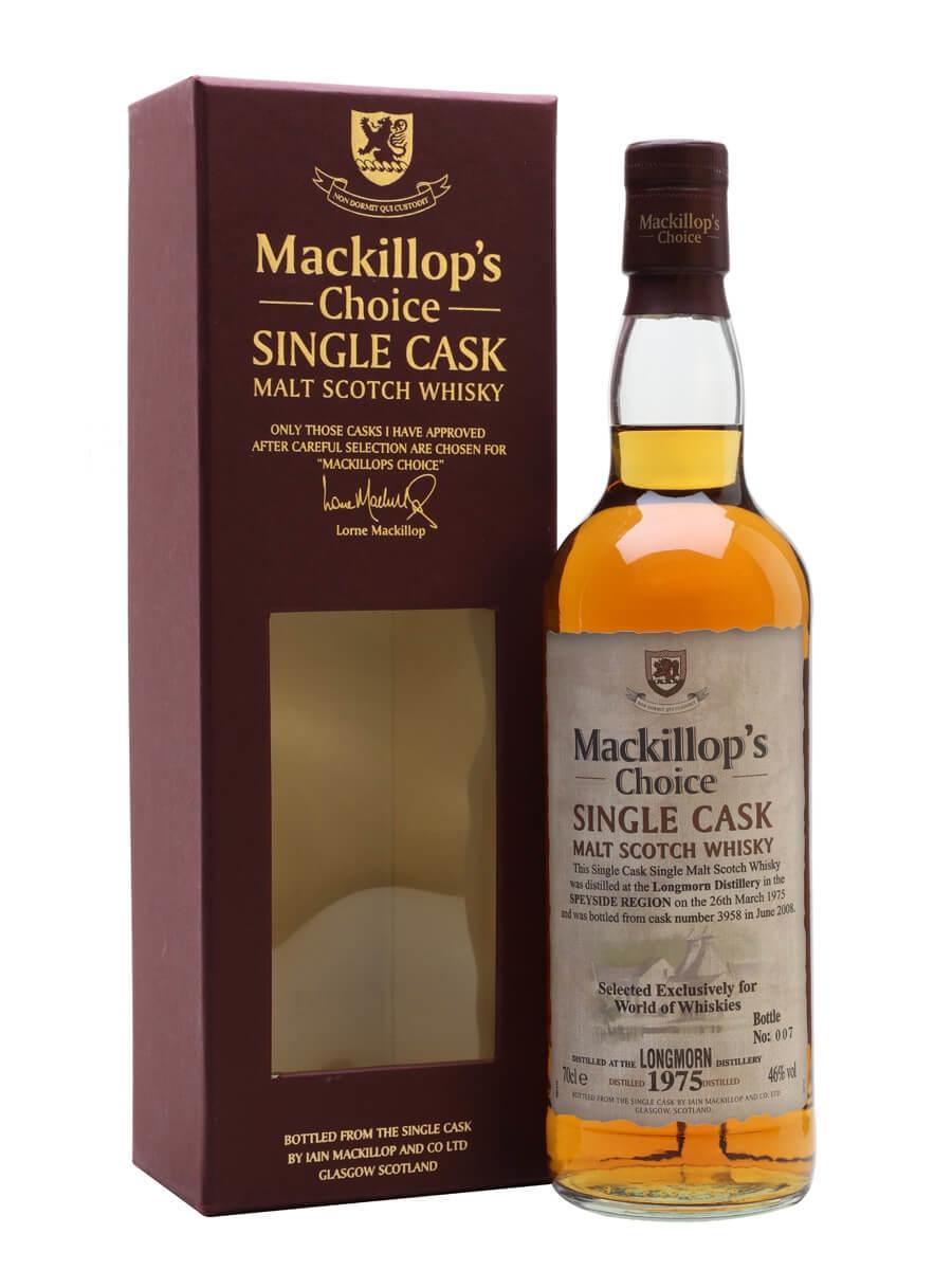 Longmorn 1975 / 33 Year Old / Cask #3958 / Mackillop's