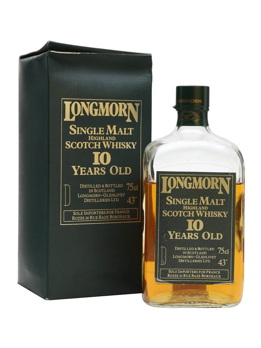 Longmorn 10 Year Old / Rectangular / Bot.1960s
