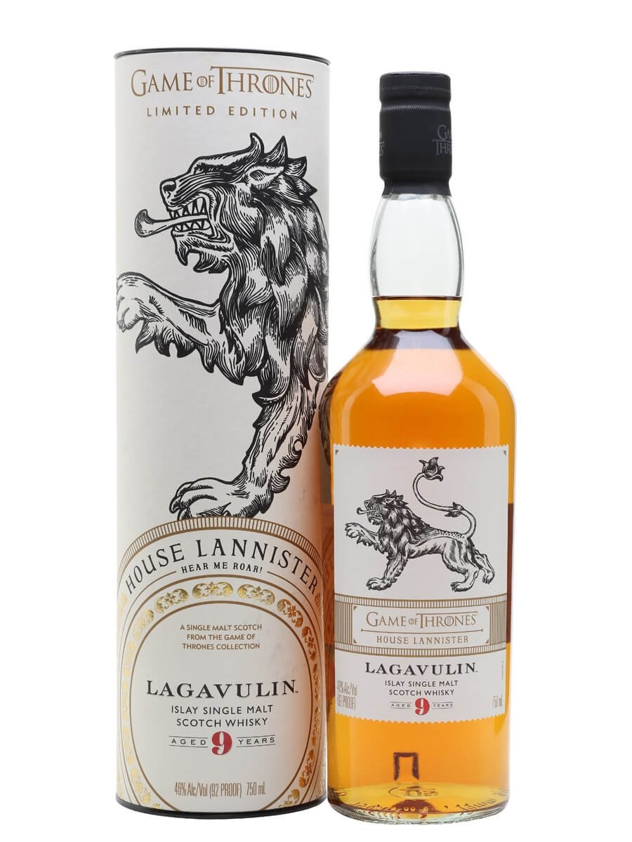 Lagavulin 9 Year Old / Game of Thrones House Lannister
