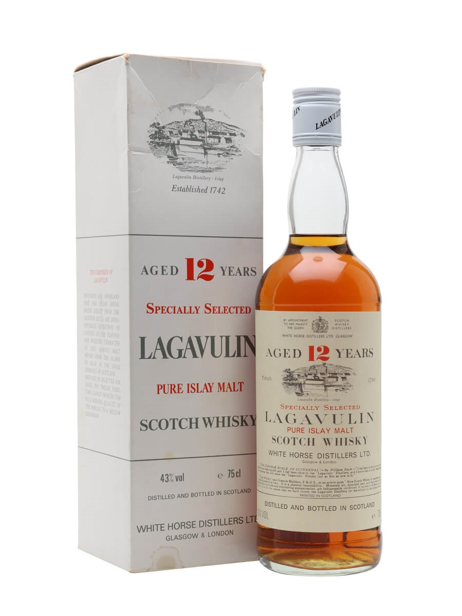 Lagavulin 12 Year Old / Bot.1980s