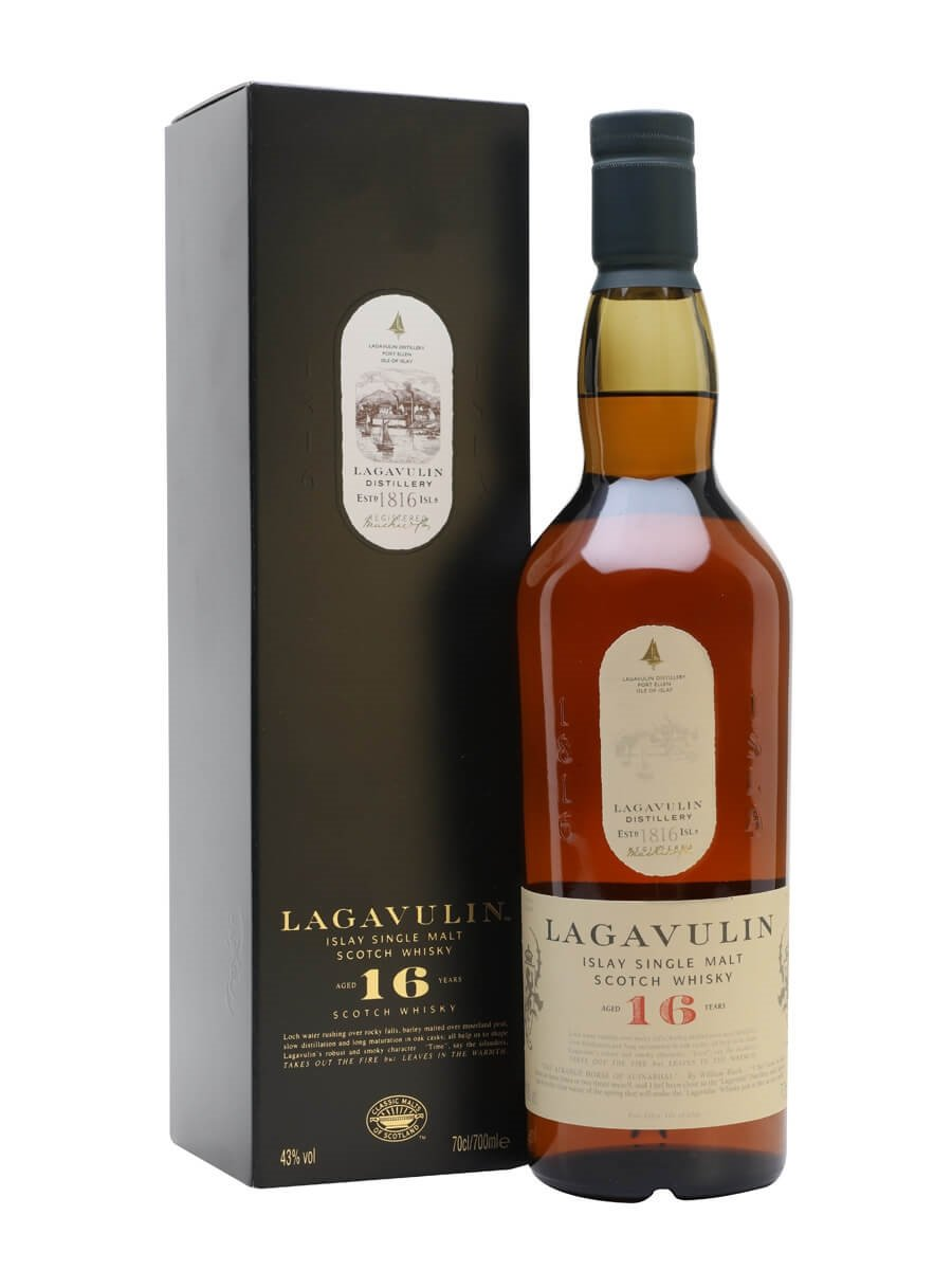 Image result for <Lagavulin 16 Year Old Scotch>