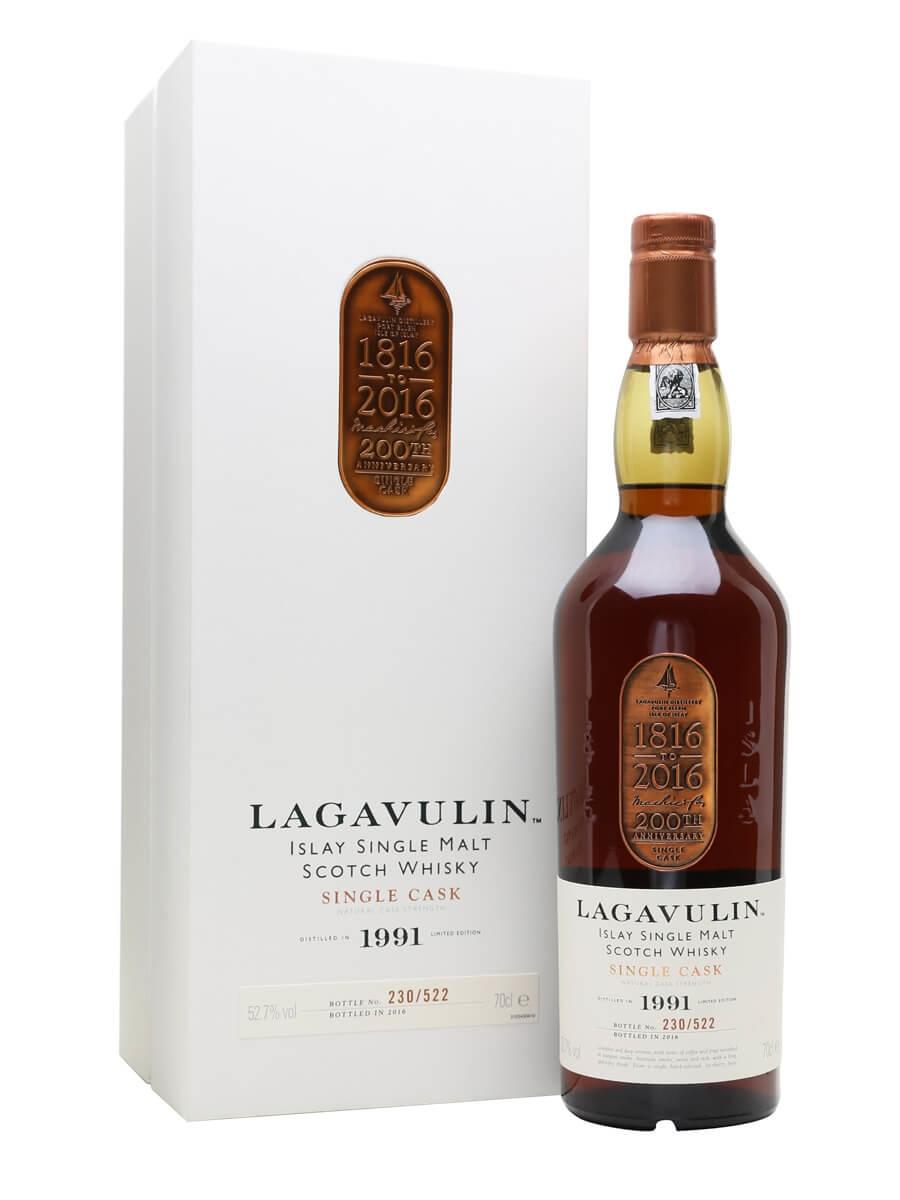 Lagavulin 1991 / 200th Anniversary Charity Bottling