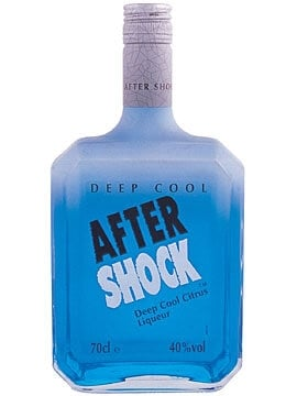 Aftershock Liqueur Deep Cool Blue The Whisky Exchange