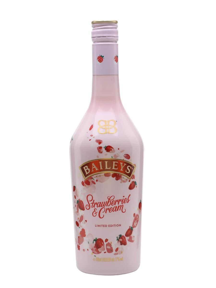 strawberry baileys milkshake