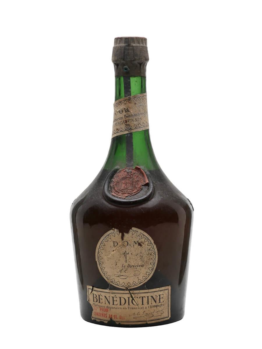 Benedictine D.O.M Liqueur / Bot.1960s