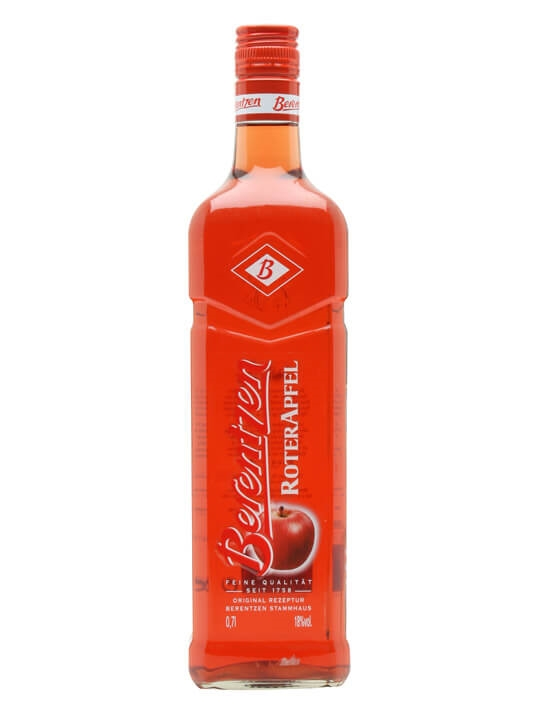 berentzen roter apfel red apple liqueur the whisky. Black Bedroom Furniture Sets. Home Design Ideas