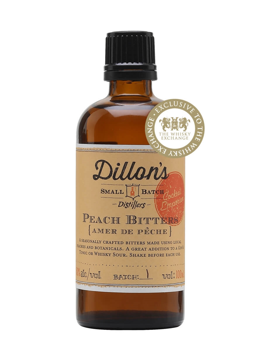Dillons Small Batch Peach Bitters
