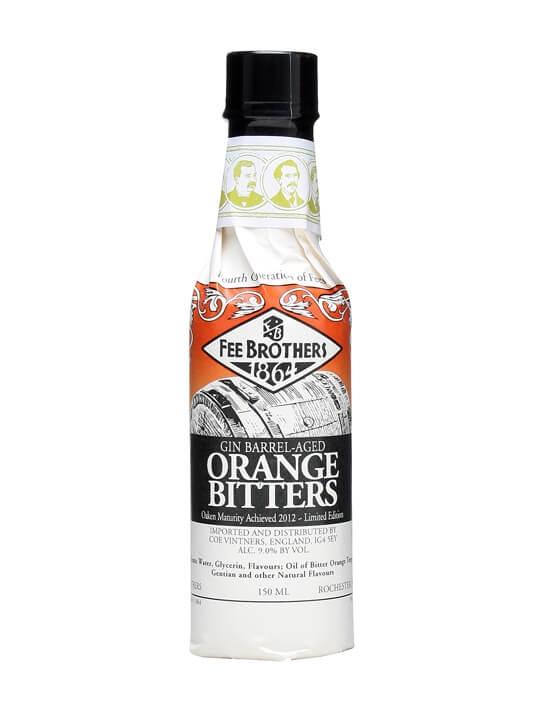 Fee Brothers Gin Barrel-Aged Orange Bitters