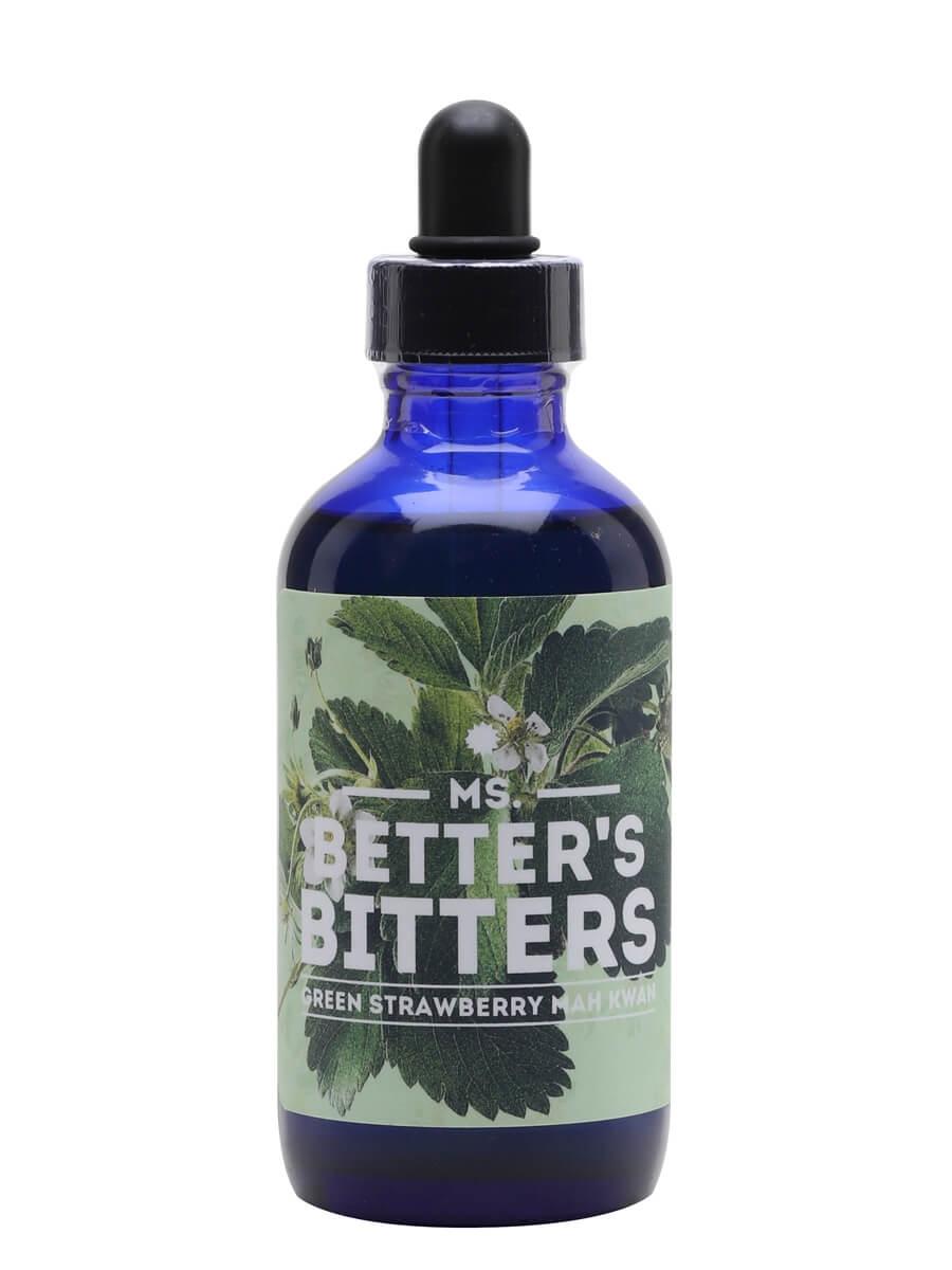 Ms Better's Green Strawbery Mah Kwan Bitters