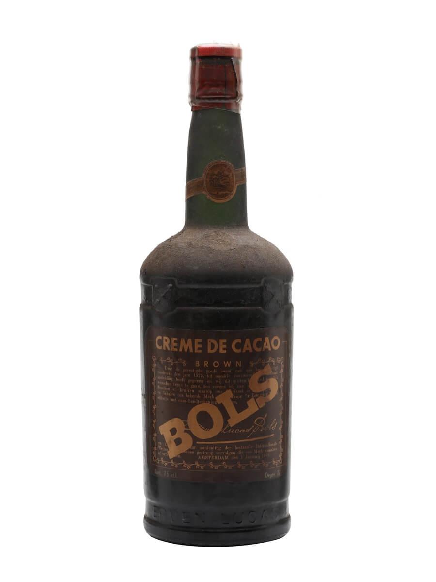 Bols Creme de Cacao Liqueur / Bot.1950s