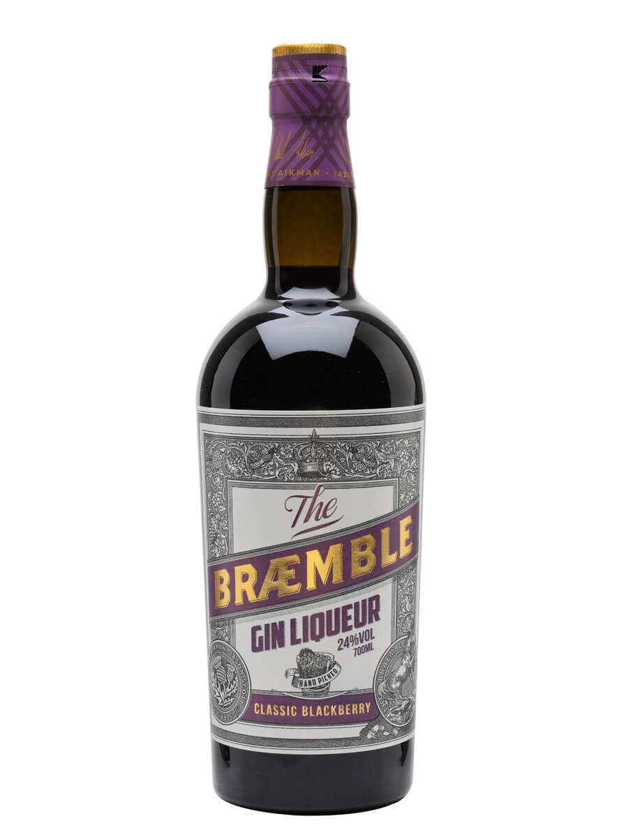 Braemble Gin Liqueur / Classic Blackberry