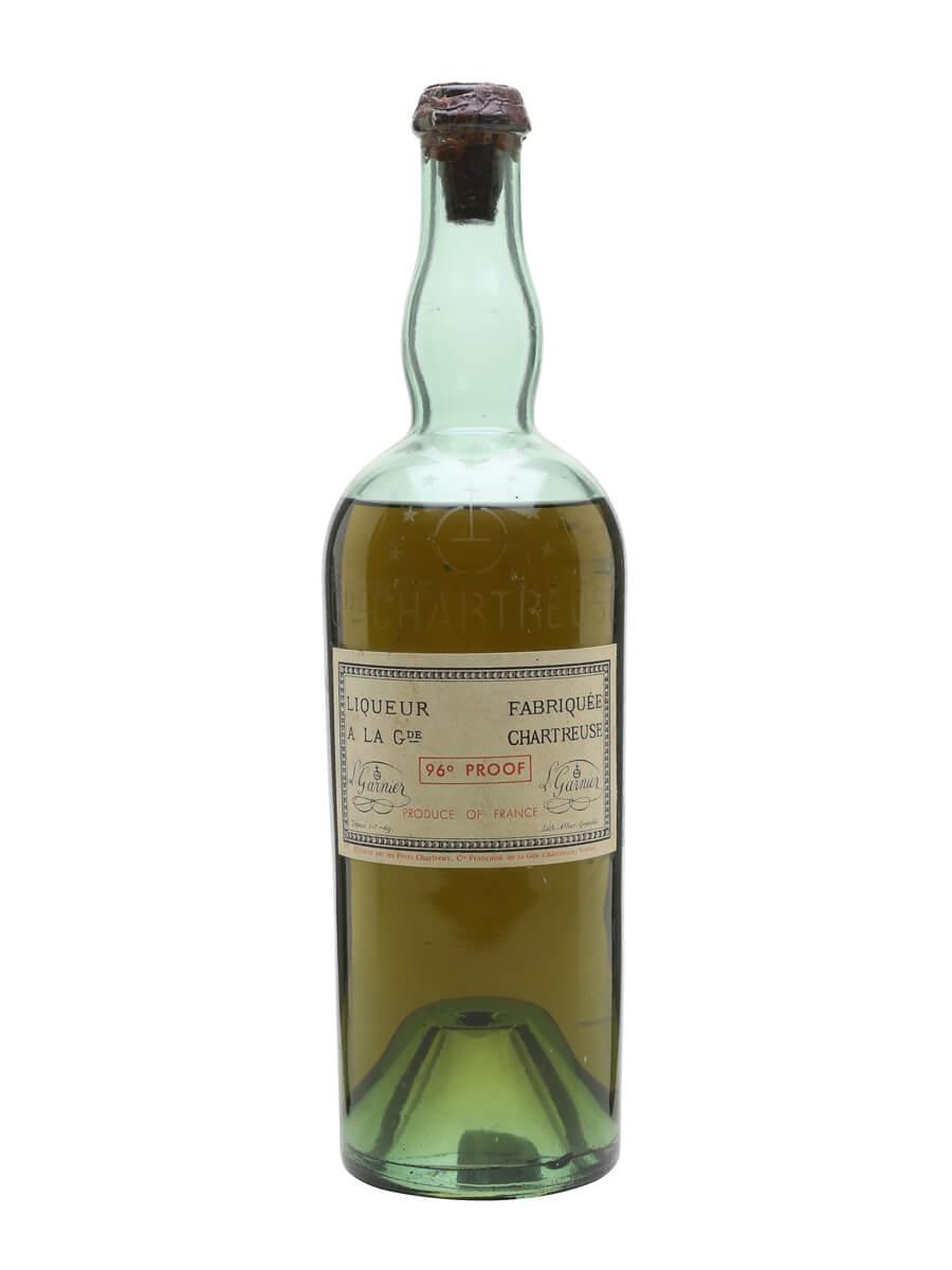 Chartreuse Green Liqueur / Bot.1940s