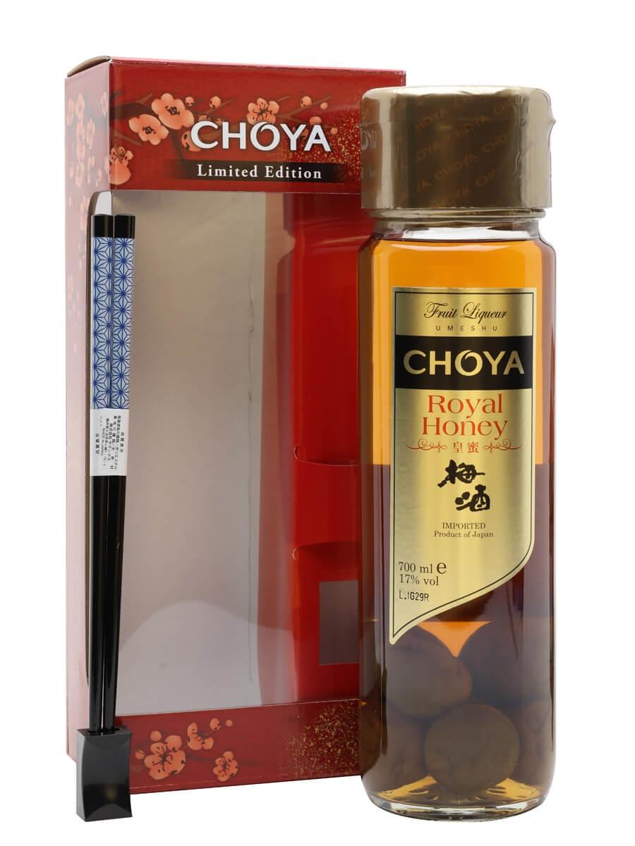 Choya Royal Honey Umeshu Liqueur / Chopstick Gift Pack