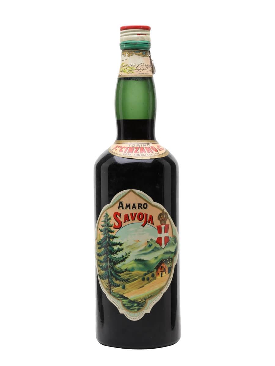 Cinzano Amaro Savoia / Bot.1950s