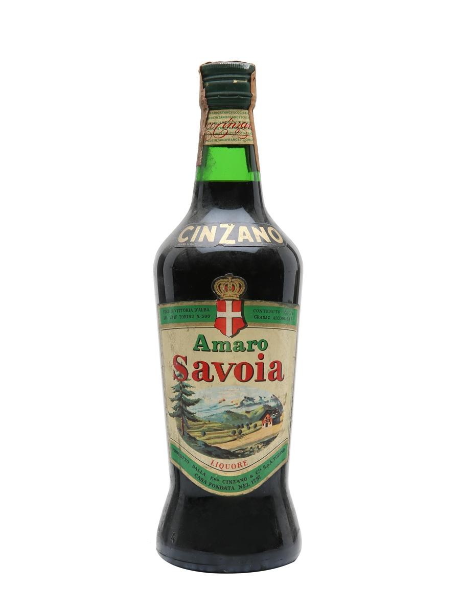 Cinzano Amaro Savoia / Bot.1970s